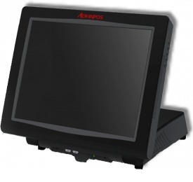 AdvanPOS Chameleon Dual Core 1.8GHz Touch Screen POS, 320GB HDD
